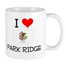 I Love PARK RIDGE Illinois Mugs