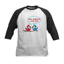 Owl always luv you Baseball Jersey