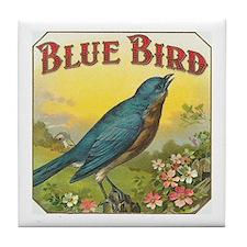 Blue Bird Art Tile