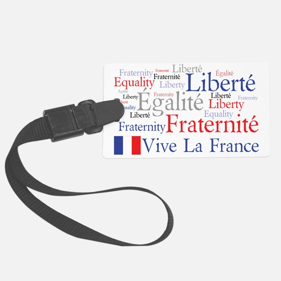 Vive La France Luggage Tag