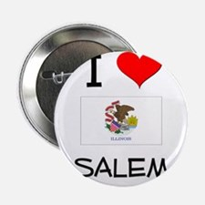 "I Love SALEM Illinois 2.25"" Button"