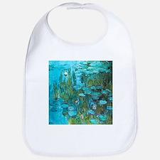 Water Lilies by Monet Baby Bib