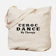 Ceroc Dance My Therapy Tote Bag
