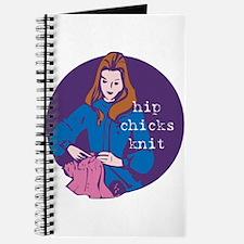 Hip Chicks Knit Journal