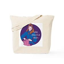 Hip Chicks Knit Tote Bag