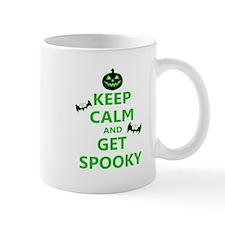 Keep Calm and Get Spooky Mugs