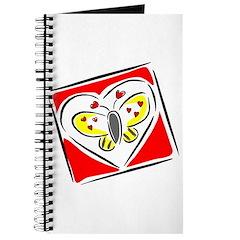 Valentine Butterfly Journal