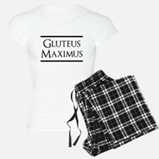 Gluteus Maximus (black) Pajamas