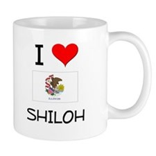 I Love SHILOH Illinois Mugs