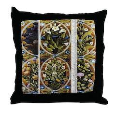 Renaissance Splendor Throw Pillow