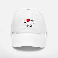 I LOVE MY Jindo Baseball Baseball Cap