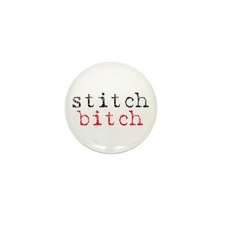 Stitch Bitch Mini Button