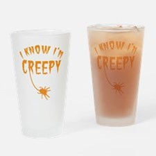 I know Im CREEPY! with tarantula spider Drinking G