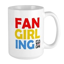Fangirling: It's A Way Of Life Mug