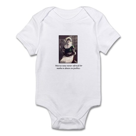 Make a Skein in Public Infant Bodysuit