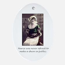 Make a Skein in Public Oval Ornament