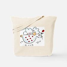I love you Angel Tote Bag