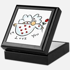 I love you Angel Keepsake Box
