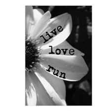Live Love Run by Vetro Je Postcards (Package of 8)