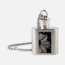 Live Love Run by Vetro Jewelry & De Flask Necklace