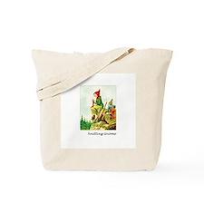 Knitting Gnome Tote Bag