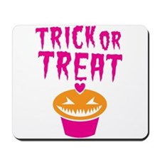 Halloween scary cupcake Trick or Treat! Mousepad