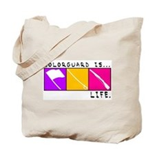Cute Colorguard Tote Bag