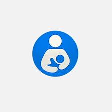 Cute Attachment parenting Mini Button