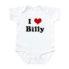 I Love Billy Infant Bodysuit