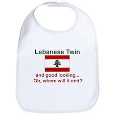 Lebanese Twin-Good Looking Bib