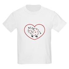 lil love cow Kids T-Shirt
