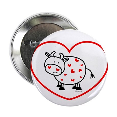 """lil love cow 2.25"""" Button (100 pack)"""