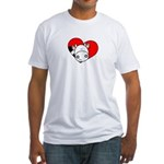 Love Cow Fitted T-Shirt