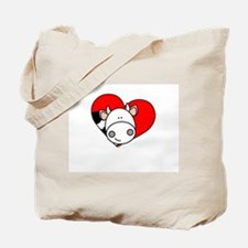 Love Cow Tote Bag