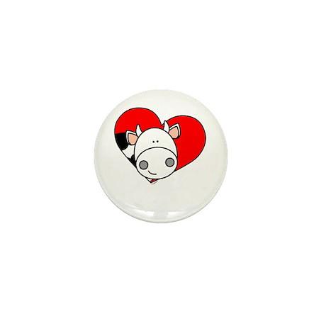 Love Cow Mini Button (100 pack)