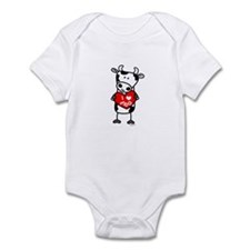 I Love Moo Cow Infant Bodysuit