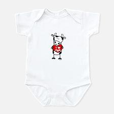 I Love Moo Cow Infant Bodysuit
