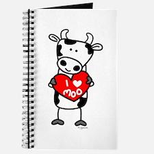 I Love Moo Cow Journal