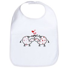 Cows in Love Bib