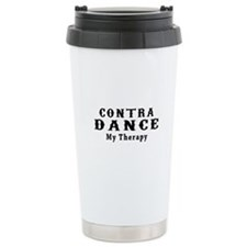Contra Dance My Therapy Travel Mug