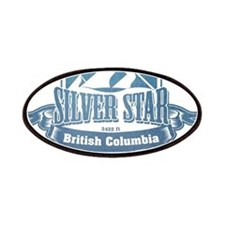 Silver Star British Columbia Ski Resort 1 Patches