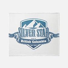 Silver Star British Columbia Ski Resort 1 Throw Bl