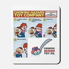 choking - first aid Mousepad