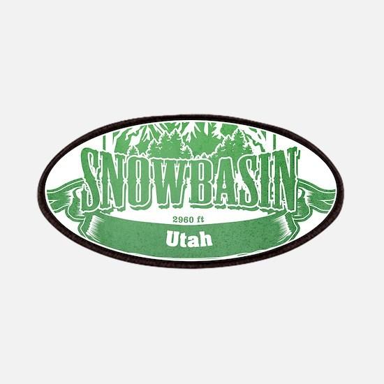 Snowbasin Utah Ski Resort 3 Patches
