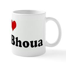 I Love Sarah Bhoua Mug