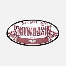 Snowbasin Utah Ski Resort 2 Patches