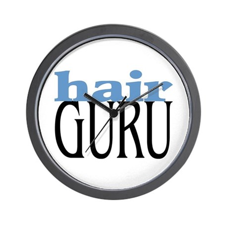 Hair Guru Wall Clock