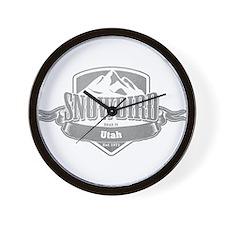 Snowbird Utah Ski Resort 5 Wall Clock
