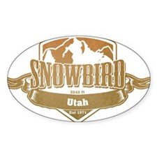Snowbird Utah Ski Resort 4 Decal