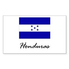 Honduras Rectangle Decal
